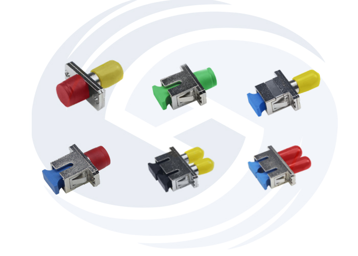 Hybird FTTH Fiber Optic Adaptor