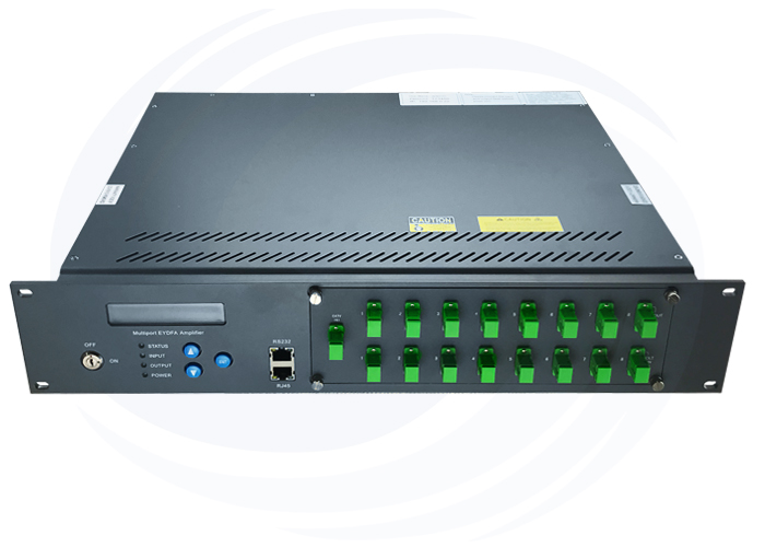 8 Port Built-in WDM High Power EDFA