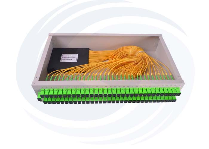 Rack mounted Optical Splitter PLC