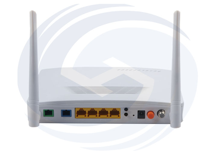 4fe CATV Wifi EPON ONT Single Fiber