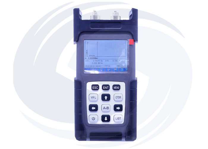 HD4102B Fiber Optic OTDR Tester Machine Meter with VFL