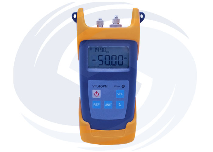 HD4108V OPM+VFL Optical Power Meter