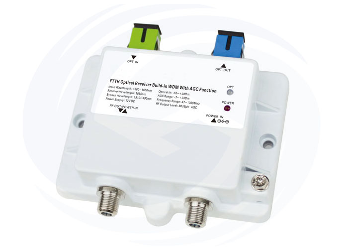 OR4030 FTTH MINI Nodo óptico con WDM