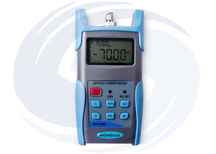 HD4108C Automatic wavelength identification Optical Power Meter